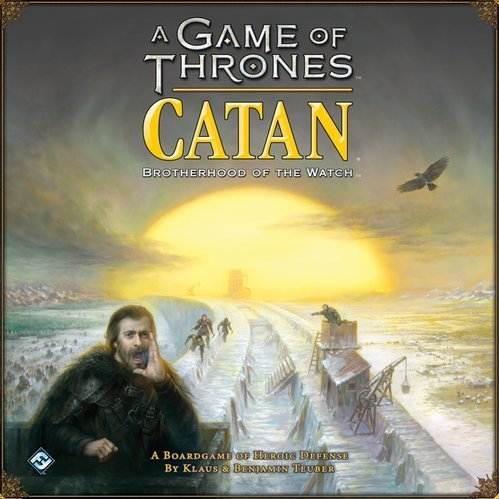 A Game of Thrones Catan: Brotherhood of the Watch (inglés)