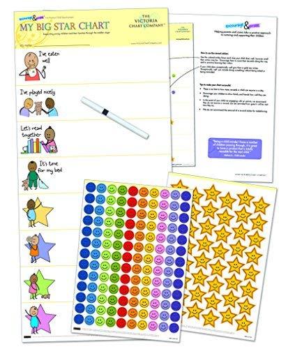 My Big Star-Diagramm, die Kleinkinder-Belohnungstafel ab 2Jahre + (Kinder Verhalten Für 2 Diagramm)