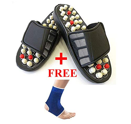 Concepta spring Acupressure and Magnetic Therapy Accu Paduka Slippers for...