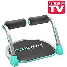 El original Core Max 8en 1–Total Body Training System. Tu nuevo banco de abdominales para un entrenamiento integral. Banco compacto y ahorra-espacio para un entrenamiento total tonic fitness cardio muscular ABS AB TB.