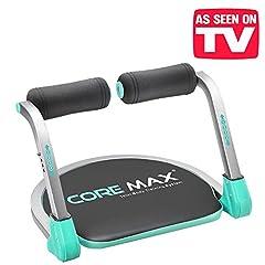 Idea Regalo - L'originale Core Max 8 in 1 - Total body training system! La tua nuova panca per gli addominali per un allenamento totale! Panca compatta e salvaspazio per un allenamento total tonic fitness cardio muscolare abs ab tb