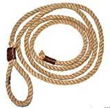 erdbeerclown–Lasso corde Cowboy Costume Indien Far West Devise de Fête Enfants et Adultes, 250cm, MARRON