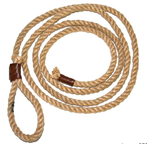 Confettery - Lasso Seil Cowboykostüm Indianer Wilder Westen Mottoparty- Kinder und Erwachsene, 250cm, (Und Für Halloween Pferde Reiter Kostüme)