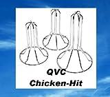 QVC, Genius Chicken Hit, Hähnchen und Entenbräter 3tlg