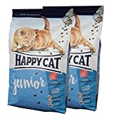 2 x 10 kg Happy Cat Katzenfutter Supreme Junior