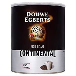 Douwe Egberts Rich Roast Continental Instant Coffee Granules - 750g