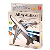 #8: IGP Diecast Alloy Airliner Boeing 777 Simulation Model Pull Back White