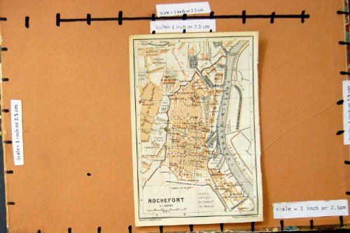 citta-1914-di-pianificazione-della-via-della-mappa-rochefort-francia-la-charente