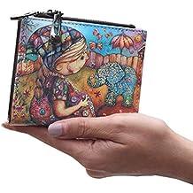 Dreambox mini portafoglio da ragazza in ecopelle con motivo cartoon