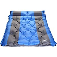 TFO autohinchable para acampada camping esterilla colchoneta hinchable con almohada para senderismo, Backpacking, tiendas de campaña