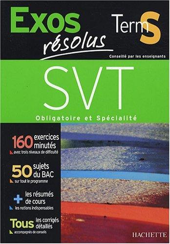 Sciences de la Vie et de la Terre, Tle S by Hervé Desormes (2008-01-30)