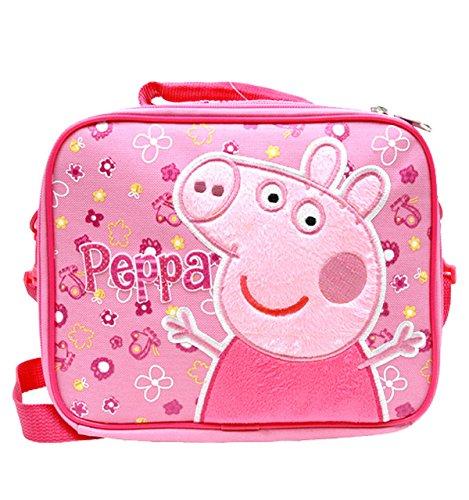 Lunch Bag–Peppa Pig, Pink Flowers pi35502 (Peppa Pig Lunch)