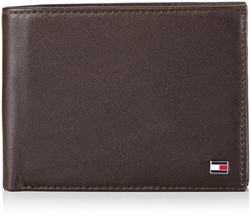 Tommy Hilfiger ETON CC AND COIN POCKET BM56927528 Herren Geldbörsen 13x10x2 cm (B x H x T), Braun (BROWN 204)