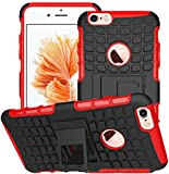 Apple Iphone 6 / 6S Hülle Nnopbeclik Hybrid 2in1 TPU+PC Schutzhülle Cover Case Silikon Rüstung Armor Dual Layer Muster H