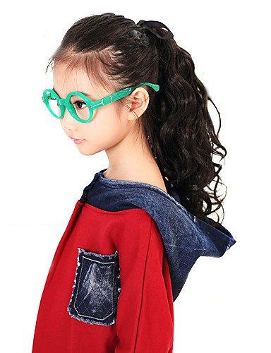 40 cm snythetic 100% fibres kanekalon cheveux queue de cheval pour les enfants