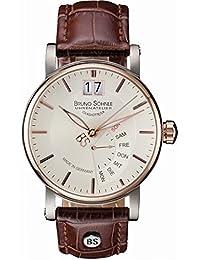 Bruno Söhnle Herren-Armbanduhr Analog Quarz Leder 17-63073-245