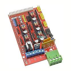 Generic 2PCS 3D Printer Controller Board For Ramps 1. 4 Reprap Prusa Mendel Arduino Red