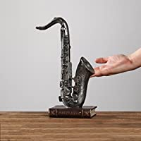 Goney Adornos Creativo Retro Decoraciones de época Máquinas de Coser Saxofón Muebles para el hogar Decoraciones