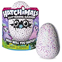 Hatchimals Glittering Garden Hatching Egg Sparkly Penguala by Spin Master