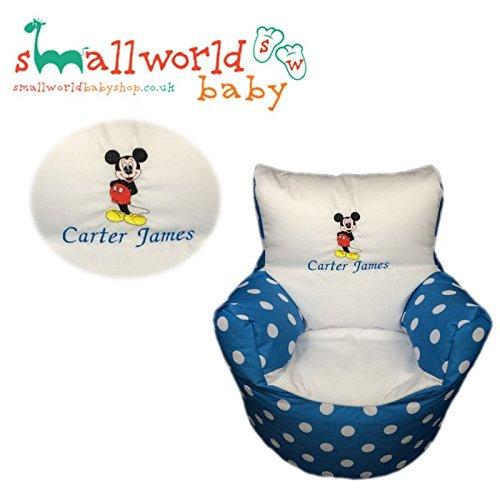 Personalisierte Mickey Mouse Kleinkind Sitzsack