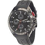 Sector Watch men's chronograph Black Rubber R3271687002 720 PVD Gun