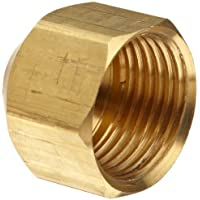 Anderson Metals Brass Tube Fitting, gorra, 5/8 Tube OD by Anderson Metals