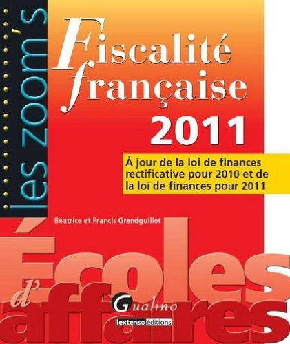 Fiscalité française 2011