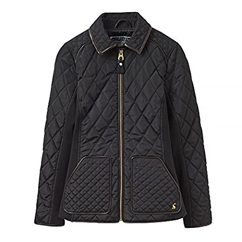 Joules Womens/Ladies Marchesa Polycotton Diamond Quilted Jacket Coat