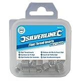 Silverline 583942 Helicoil-Gewindeeinsätze M12 x 1