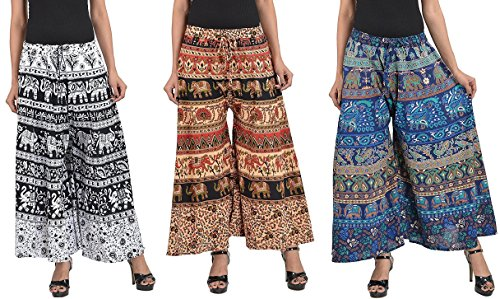 MRV Fashion's Latest & Stylish Casual Wear Cotton Printed Plazzo Pants For...
