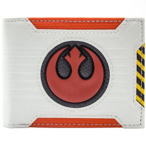 Star Wars Rebel Alliance Pilot Weiß Portemonnaie Geldbörse