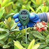 Testeur de sol l'humidité Mètre/Light/testeur de pH/Plante du sol testeur kit (avec un cadeau Gants de jardinage Gants de travail) par Zapo