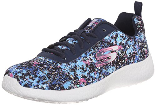 Skechers Sport Burst Illuminations Fashion Sneaker Blau