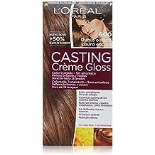 L'Oréal Paris Casting Créme Gloss Coloración Sin Amoniaco, Tono: 600 Rubio Oscuro