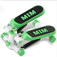 LY-01 Máquinas de Step Mini Paso a Paso con Contador de calorías en la Consola LCD, Nivel Ajustable de Altura aeróbica, Ligero y portátil, fácil de almacenar