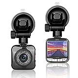 ZISTE Full HD 1080P Dashcam Autokamera Video Recorder Armaturenbrett Kamera DVR mit 170 Grad Weitwinkelobjektiv, 2 Zoll LCD-Bildschirm, WDR, Bewegungserkennung, Parkmonitor, Loop-Aufnahme und G-Sensor