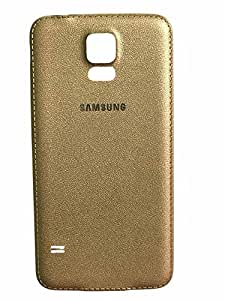 Gurunanak D deal Replacement Battery Door Back Panel Hard Back Case Cover For Samsung Galaxy S5 i9600/G9000 (Gold)