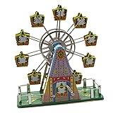 Superfreak® Blechspielzeug Riesenrad aus Blech mit Musik
