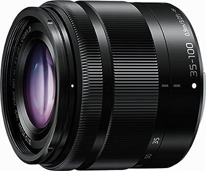Panasonic H-FS35100E-K - Objetivo Lumix G para Micro Cuatro Tercios (distancia focal 35-100mm, apertura f/4-22, zoom óptico 0.11x,estabilizador óptico, diámetro: 46mm) negro