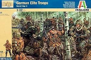 Italeri 6875S  - Segunda Guerra Mundial Deutsch tropas de élite