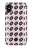 LuMee Étui de Protection pour iPhone X Motif Kimoji LIT
