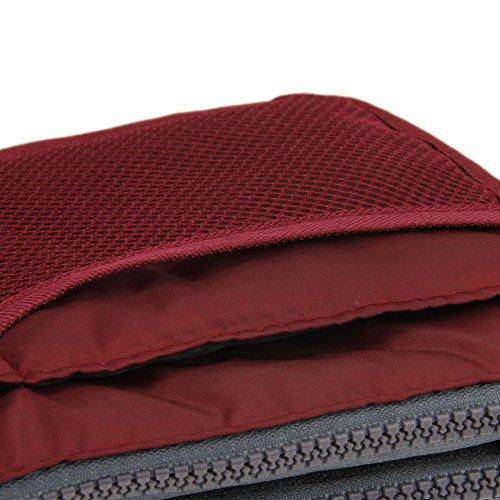 MoonLove , Taschenorganizer Rot dunkelrot Einheitsgröße