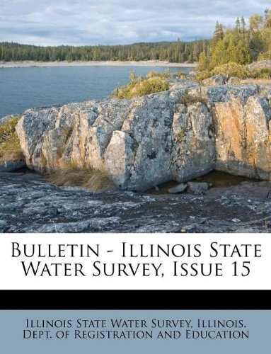 Bulletin - Illinois State Water Survey, Issue 15