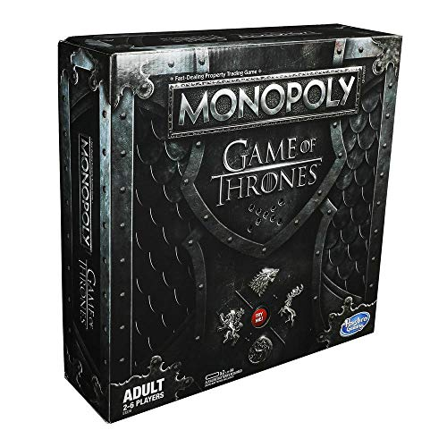 Hasbro Monopoly Game of Thrones (Edizione in Inglese)