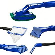 ETGtek(TM) Juego de limpieza 1set acuario algas pecera de cristal limpiador del depurador Herramientas Bomba de agua de la grava