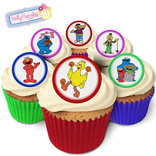 24-edible-round-cake-toppers-drawings-inspired-by-sesame-street