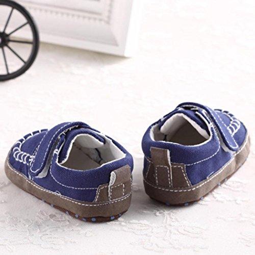 Blau Sneakers krippe Schuhe Kleinkind Freizeitschuhe Weiche Sohle Baby Bzline® 0qpx88