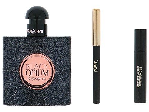 Yves Saint Laurent Black Opium giftset, Eau de Parfum spray, mascara, pencil, 1er Pack (1 x 53 g) -