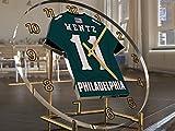 NFL NATIONAL-FOOTBALL-LEAGUE-SCHREIBTISCH TAKTGEBER-NFC-EAST TRIKOT UHREN, AMERICAN FOOTBALL BELIEBIGER NAME, ALLE NUMMER JEDES TEAM PHILADELPHIA EAGLES