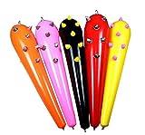 Set von 5 PVC Aufblasbare Spielhämmer Farbe Random